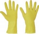 Pracovní rukavice Starling, latex, úklidové - AKCE JEN vel.M