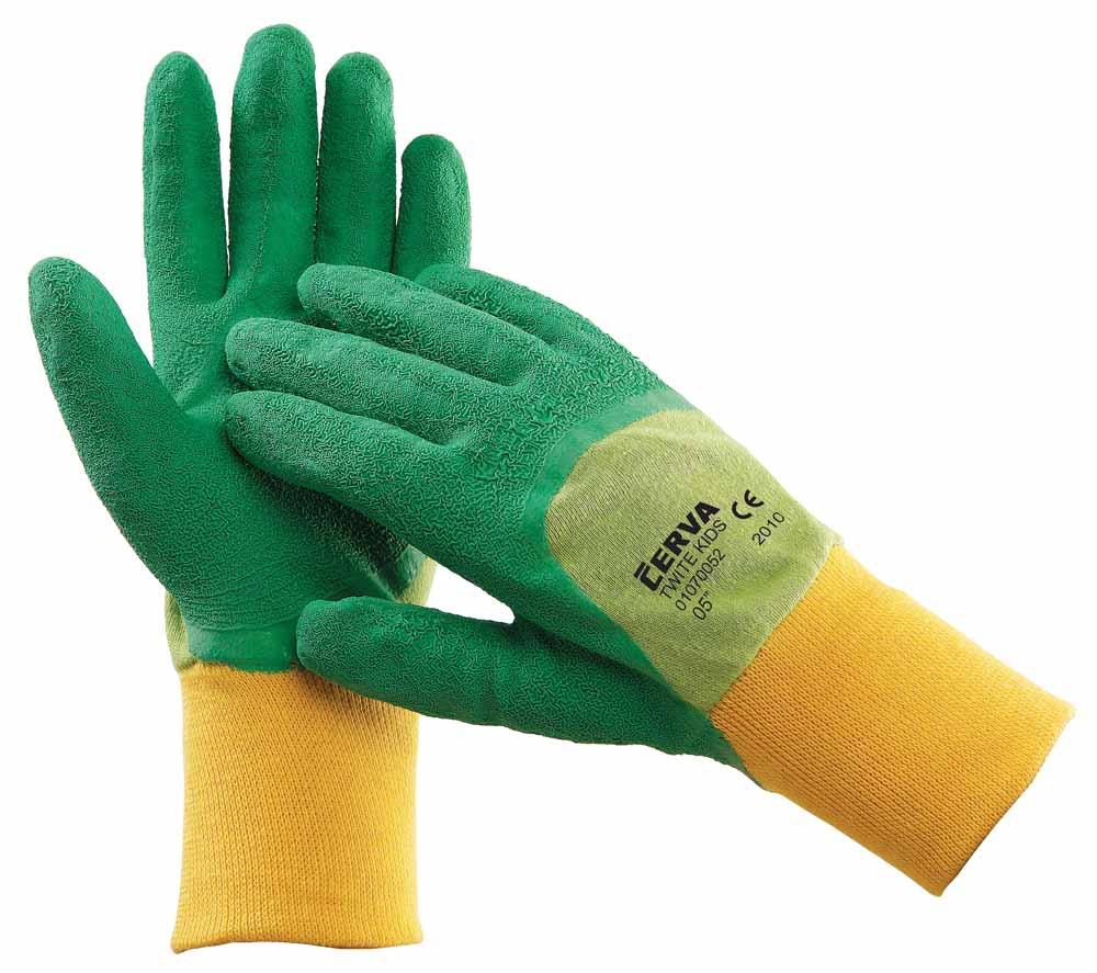 Dětské pracovní rukavice TWITE  6e9fd40321