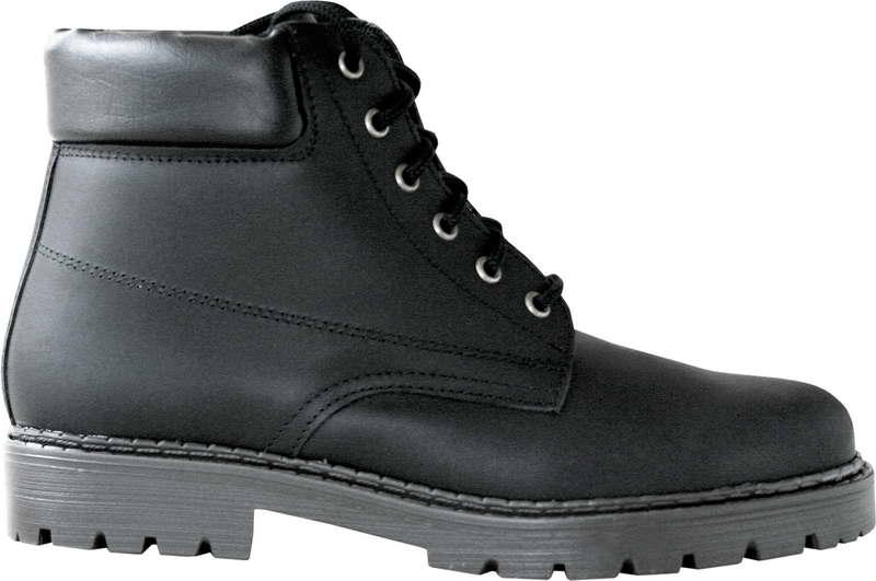 Kožená zimní obuv Farmářka černá fb5e498668